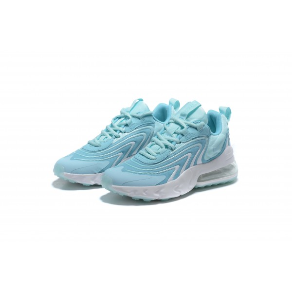 Nike Air Max 270 React v3 light blue women shoes
