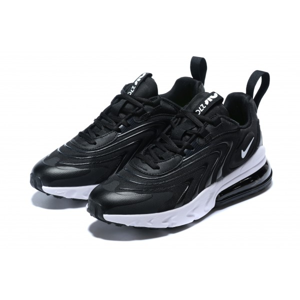 Nike Air Max 270 React v3 black white women shoes