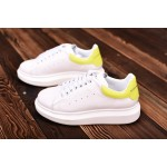 Alexander McQueen yellow women shoes