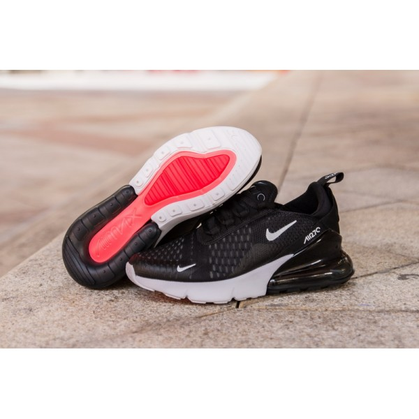 Nike Air Max 270 white black men shoes