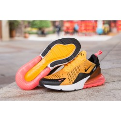best service c461f 7ab64 Nike Air Max 270 yellow black red women shoes