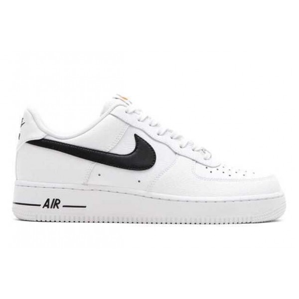 Nike Air Force 1   One White Black Men s Shoes Low Top Classic 9f1b2b6df