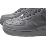Nike Air Force 1 / One Whole Black Men's Shoes Low Top Classic