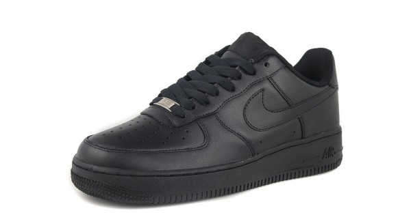 check out 16a66 045e4 Nike Air Force 1   One Whole Black Men s Shoes Low Top Classic