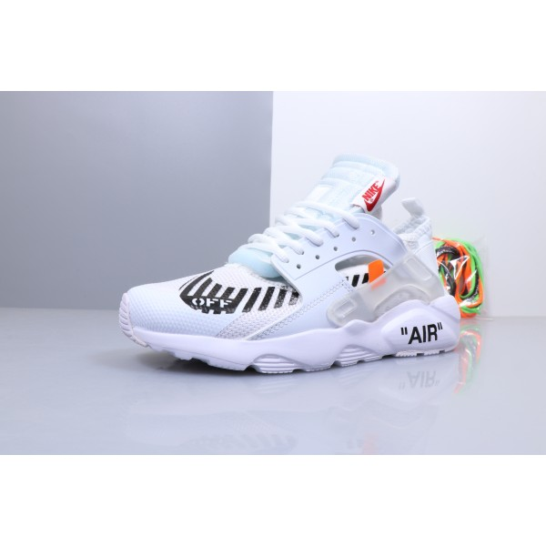 OFF WHITE x Nike Air Huarache Ultra white men shoes