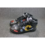 Nike Air Force 1/One Supreme NBA Mid Tops black men shoes