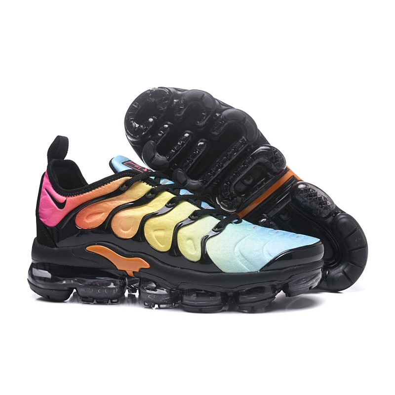 newest b164a 21714 NIKE VAPORMAX 2018 TN PLUS colorful women shoes