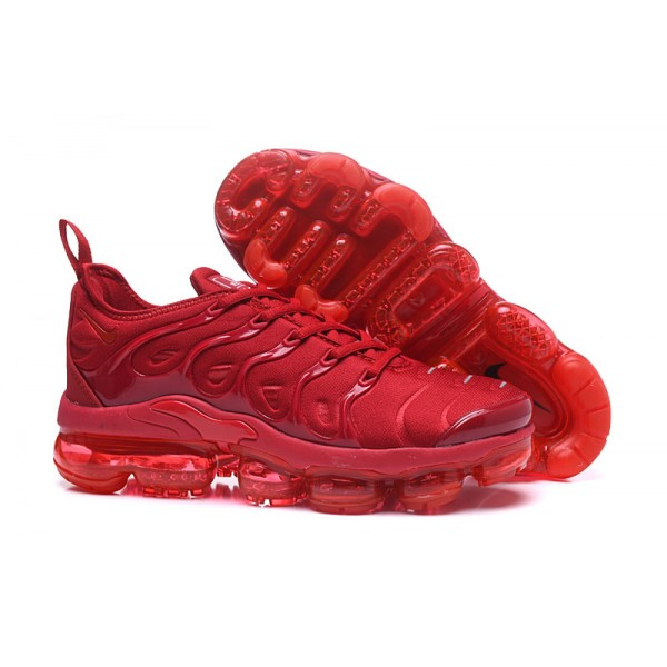 NIKE VAPORMAX 2018 TN PLUS all red men shoes