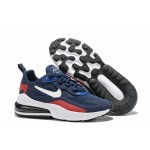 Nike Air Max 270 React white blue red men shoes