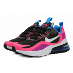 Nike Air Max 270 React black pink orchid women shoes
