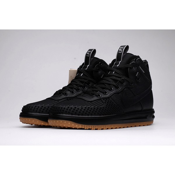 Nike Lunar Force 1 Duckboot winter Men's Boot black