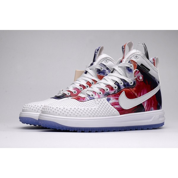 Nike Lunar Force 1 Duckboot winter Men s Boot white red 3737d64cf