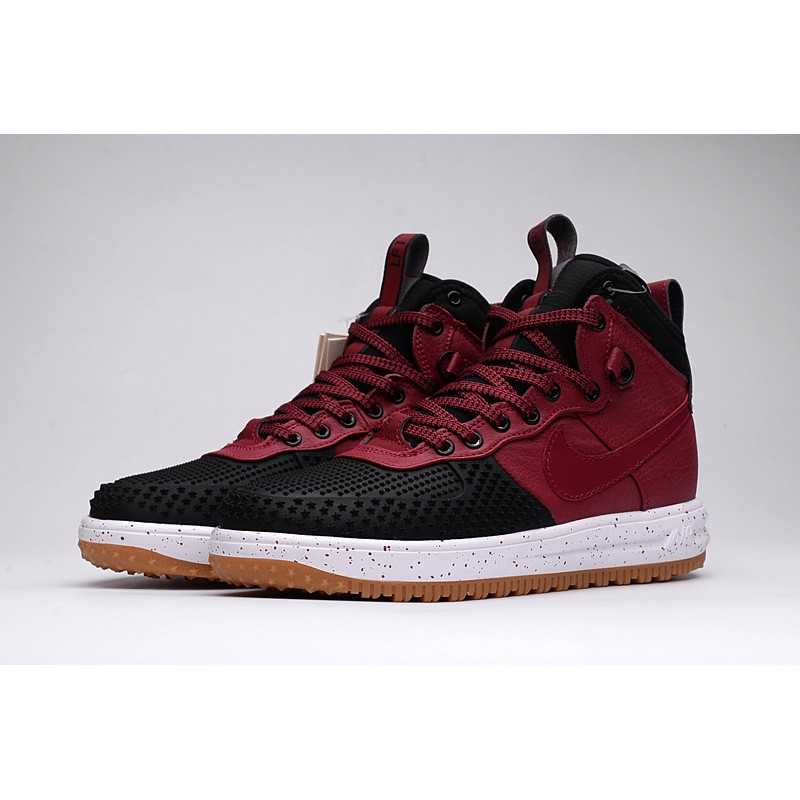 nouveau produit f0fad 34a9d Nike Lunar Force 1 Duckboot winter Men's Boot wine red