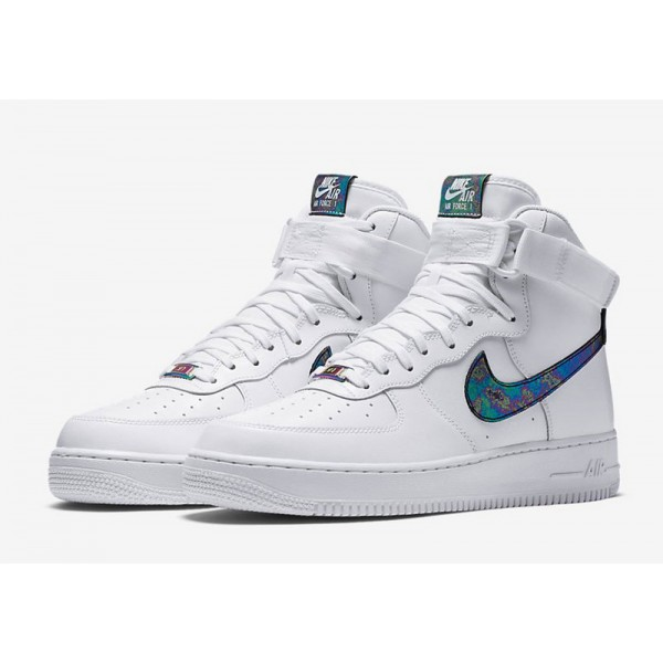 Nike Air Force 1 HI LV8 IRIDESCENT man's shoes