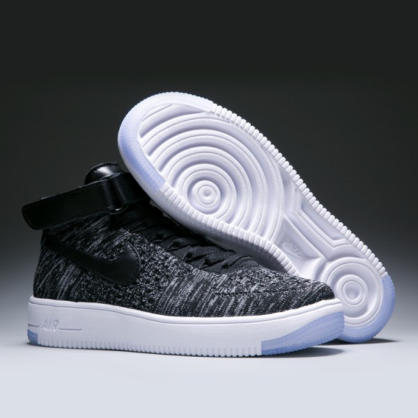 hot sale online 02fab 20a49 WMNS Nike Air Force l Flyknit women s shoes grey