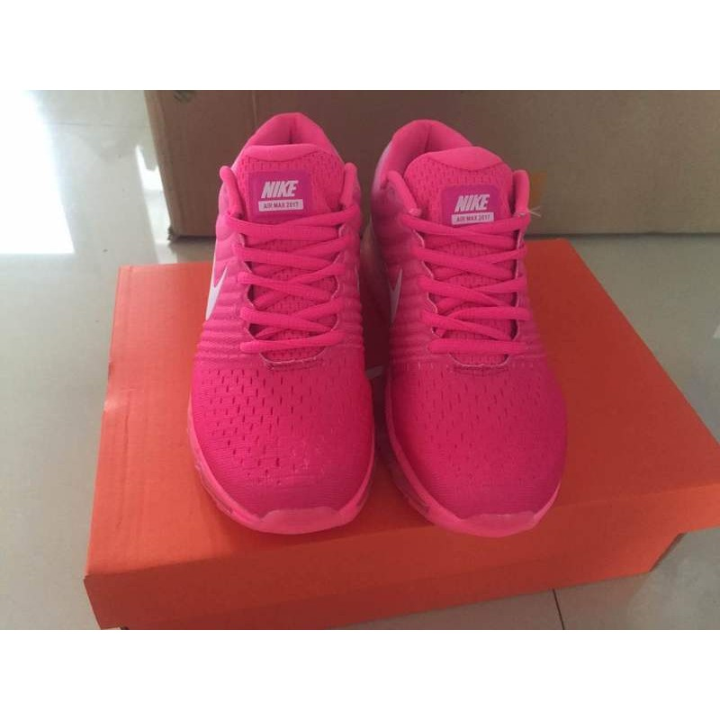 new arrival 1926a 58ce4 Nike Air Max 2017 women pink shoes