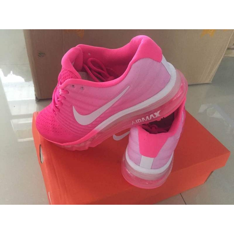 new arrival d7413 4d465 Nike Air Max 2017 women pink shoes
