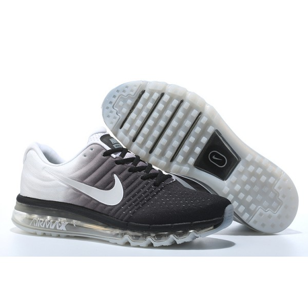 timeless design aa592 cd9ef Nike Air Max 2017 men shoes black white
