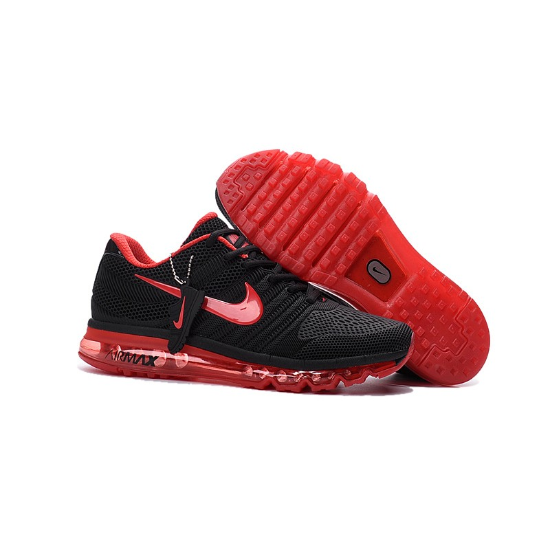 Nike Air Max 2017 Nano men's shoes black red