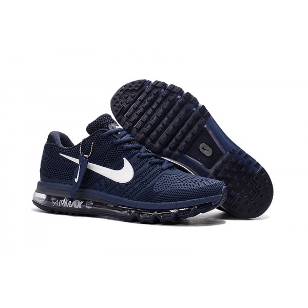 release date: bdf57 b788a Nike Air Max 2017 Nano men's shoes dark blue white