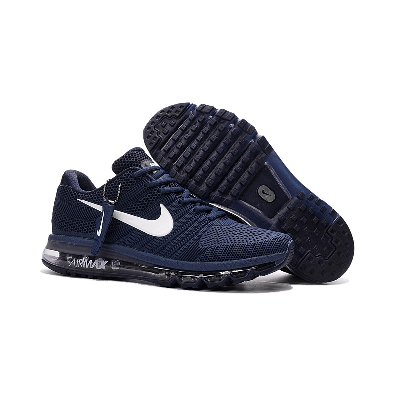 Nike Air Max 2017 Black Blue Shoes