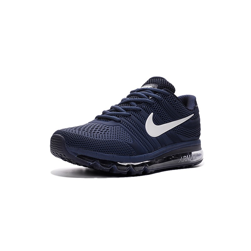 release date: ca3b1 385e2 Nike Air Max 2017 Nano men's shoes dark blue white
