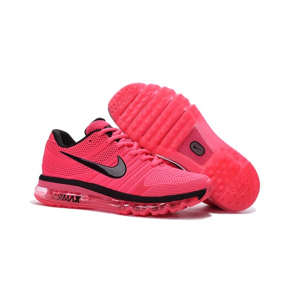23d6c5066a0 Nike Air Max 2017 Nano women's shoes black pink