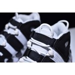 Nike Air More Uptempo black white men shoes