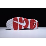 Nike Air More Uptempo white red men shoes
