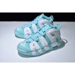 Nike Air More Uptempo navy green white women shoes