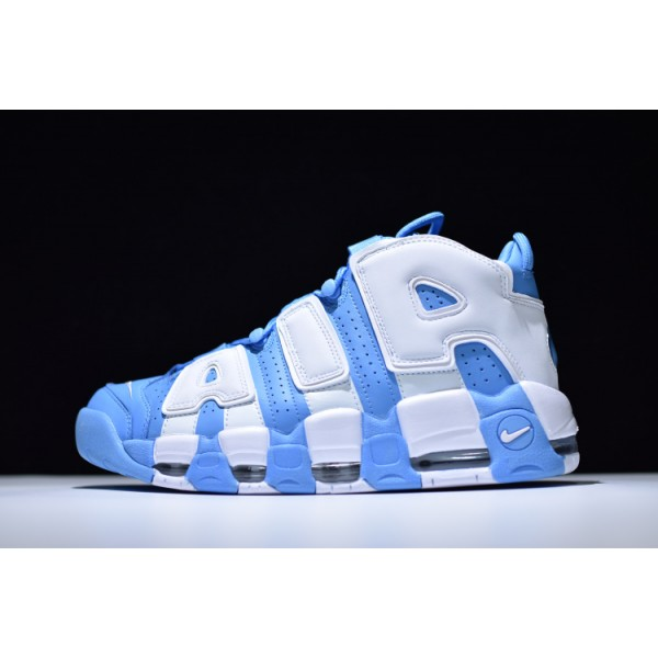 Nike Air More Uptempo navy blue white men shoes