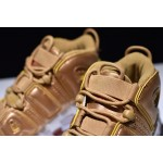 Nike Air More Uptempo white gold women shoes