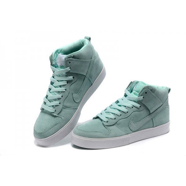 the best attitude 578ff 3b38e Nike Dunk SB high tops womens shoes rose mint color