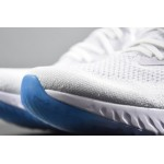 Nike Epic React Flyknit blue women running shoes