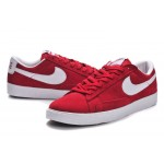 Nike Blazer men red low shoes