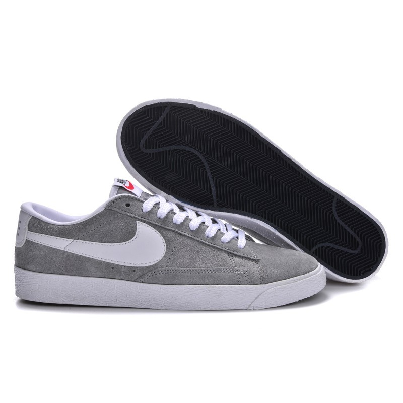 NIKE BLAZER LOW SUEDE GREY PINK MEN SZ 8 A See more like this Nike Off White Blazer 'Grim Reapers' Wolf Grey Size 11 Men's Confirmed Order Brand New · Nike · US Shoe Size (Men's) · Nike Blazer.