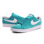 Nike Blazer men sky blue low shoes