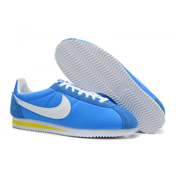 Nike Cortez women blue white shoes