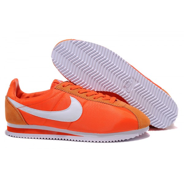 Nike Cortez women orange shoes