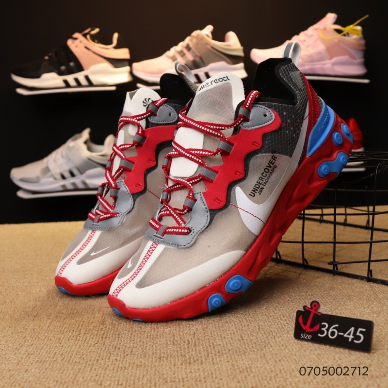 best authentic f3ef5 59545 NIKE EPIC REACT ELEMENT 87 / UNDERCOVER white red women shoes