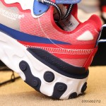 NIKE EPIC REACT ELEMENT 87 / UNDERCOVER white blue red women shoes