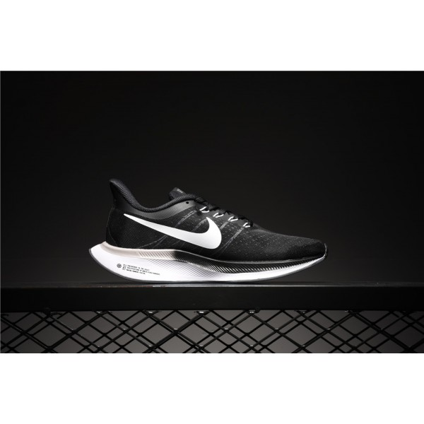 Nike Zoom Pegasus 35 Turbo black women's running shoes
