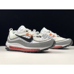 Nike Air Max 98 x OFF-WHITE - Vintage Sports Cushion Women's Running Shoes