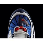 """Nike Air Max 98 Gundam"" Blue and Red Vintage Women's Running Shoes"