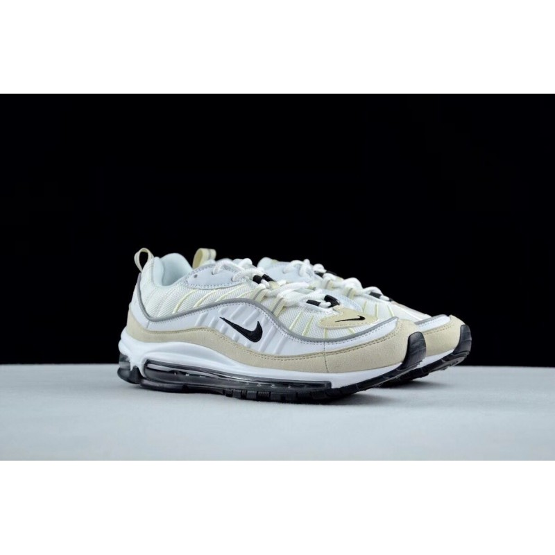 promo code f2654 5a6f8 Nike air max 98 ''White Fossil '' men's running shoes