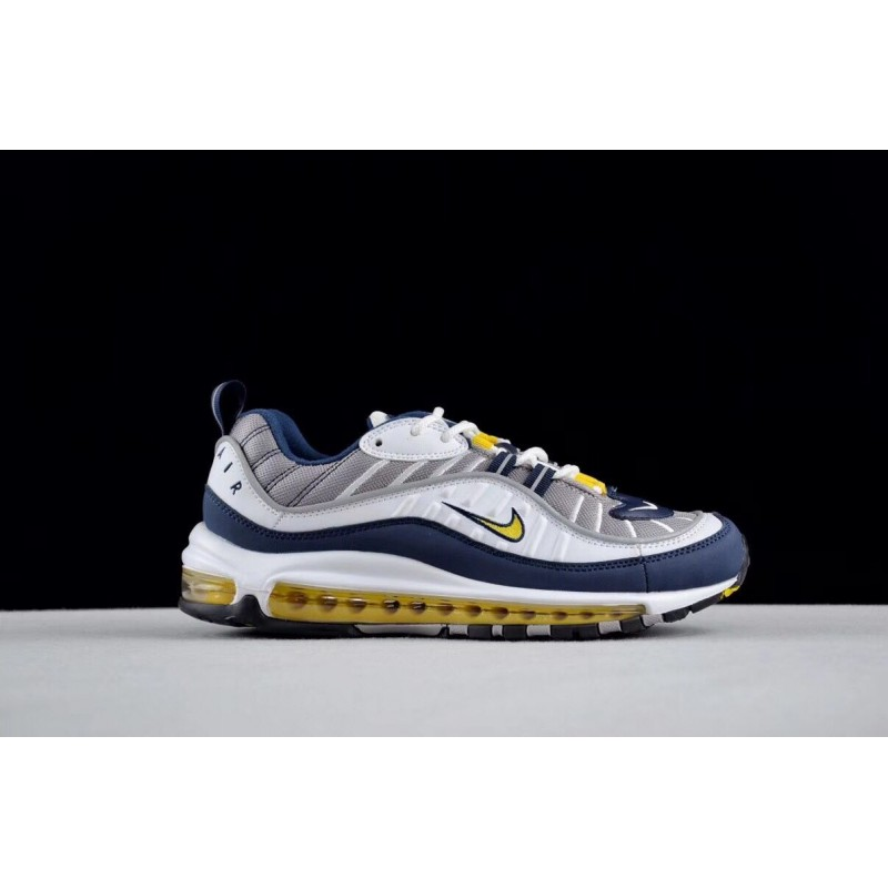 "Nike Air Max 98 ""Tour Yellow"" Vintage Sports Men's Running Shoes"