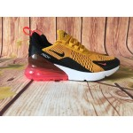 Nike Air Max 270 yellow black red women shoes