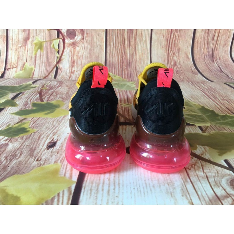 premium selection 5a80b 0fabc Nike Air Max 270 yellow black red men shoes