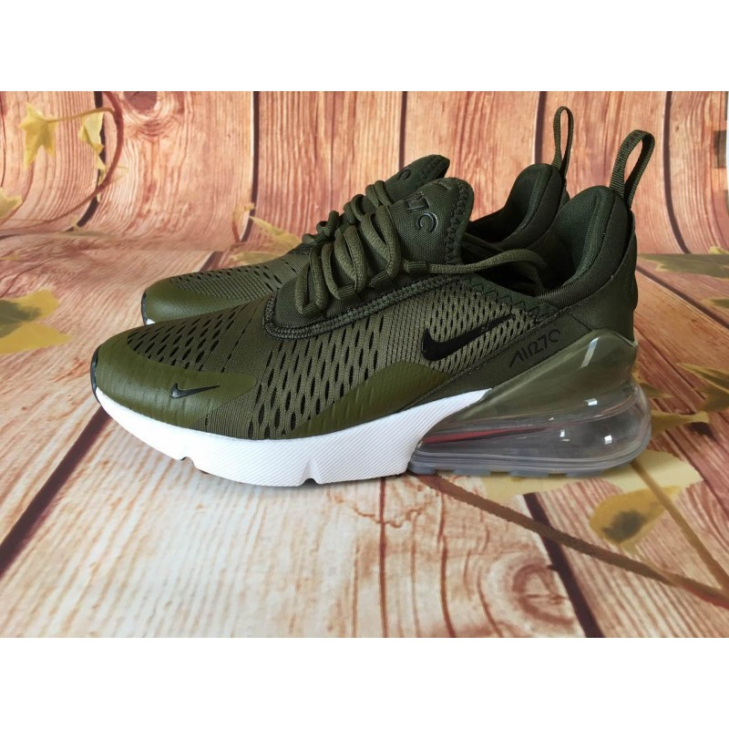 low priced bd445 15ab2 Nike Air Max 270 olive men shoes