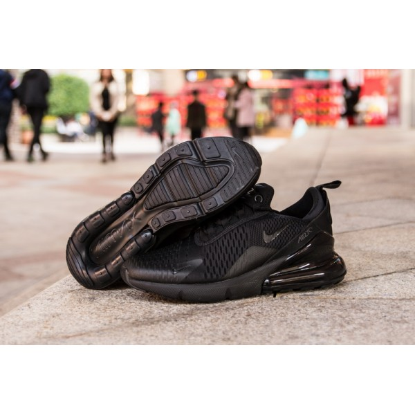 Nike Air Max 270 all black men shoes